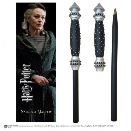 Narcissa Wand Pen and Bookmark